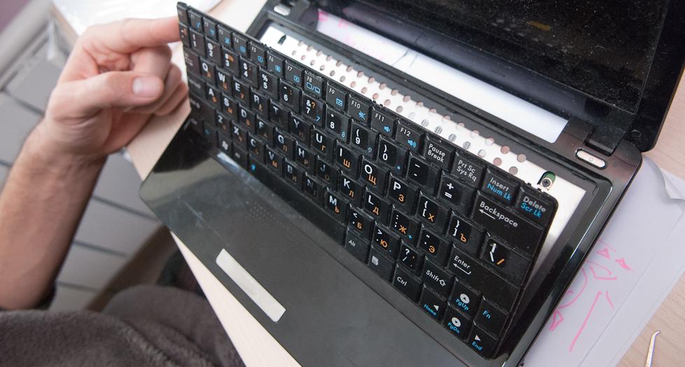 шлейф клавиатуры