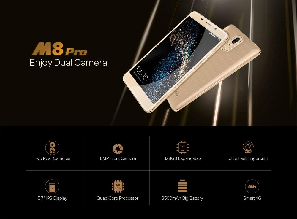 Leagoo M8 Pro характеристики