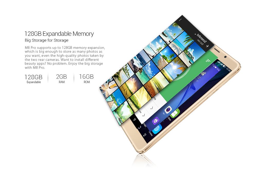 Leagoo M8 Pro память