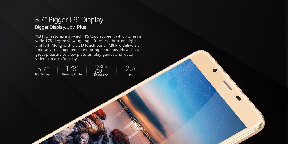 Leagoo M8 Pro экран