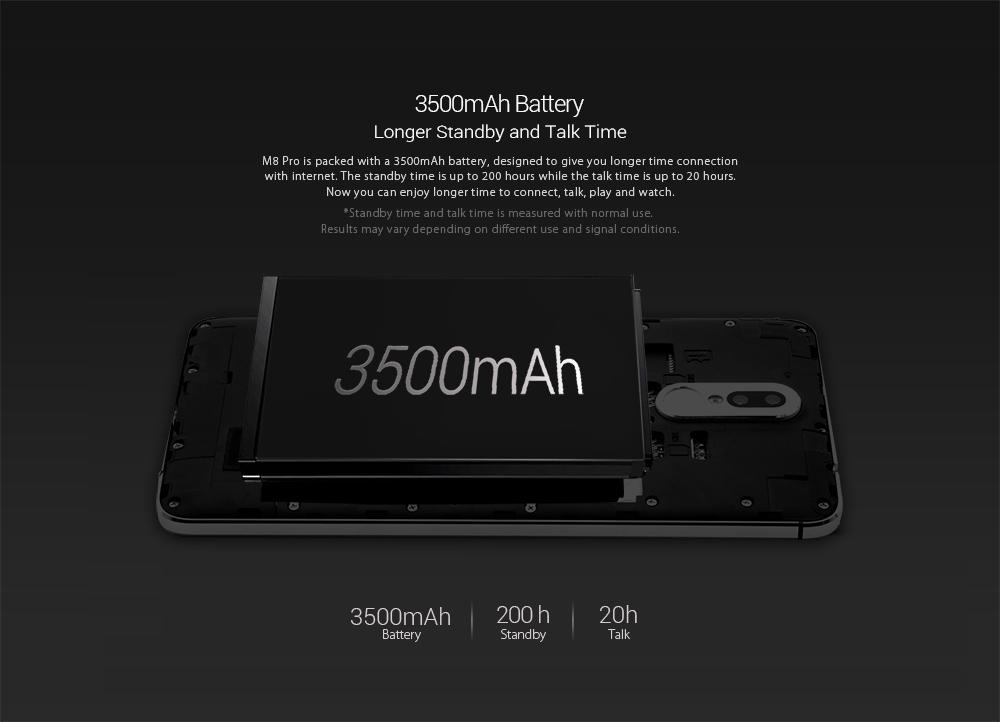 Leagoo M8 Pro батарея