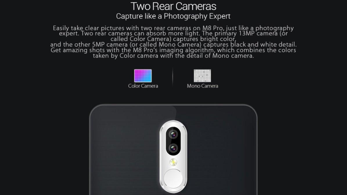 Leagoo M8 Pro камеры