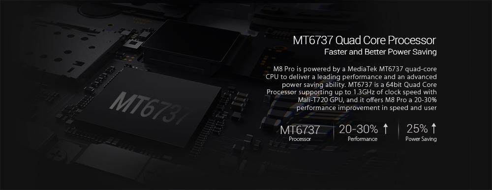Leagoo M8 Pro процессор