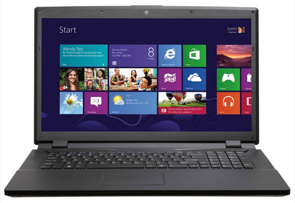 Ноутбук с Windows 8
