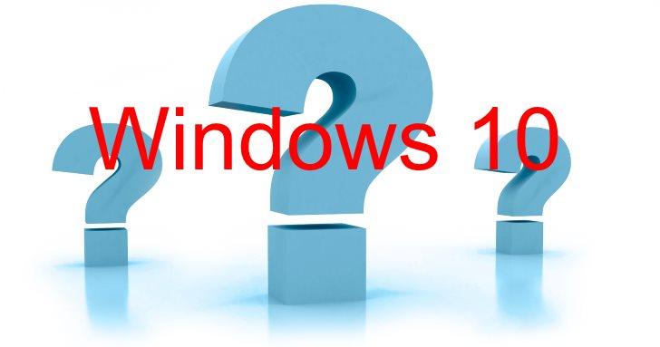 Вопросы ответы Windows 10